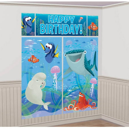 Finding Dory Scene Setter Room Decor (Jungle Scene Setter)