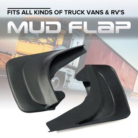 1Pair Moulded Universal Fit Mud Flap Mudflaps Front or Rear to mudflap fit For Peugeot