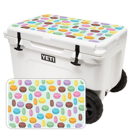Skin For Yeti Tundra Haul Cooler Lid - Macarons | MightySkins Protective, Durable, and Unique Vinyl Decal wrap cover | Easy To Apply, Remove, and Change Styles | Made in the USA](Lids Tracking)