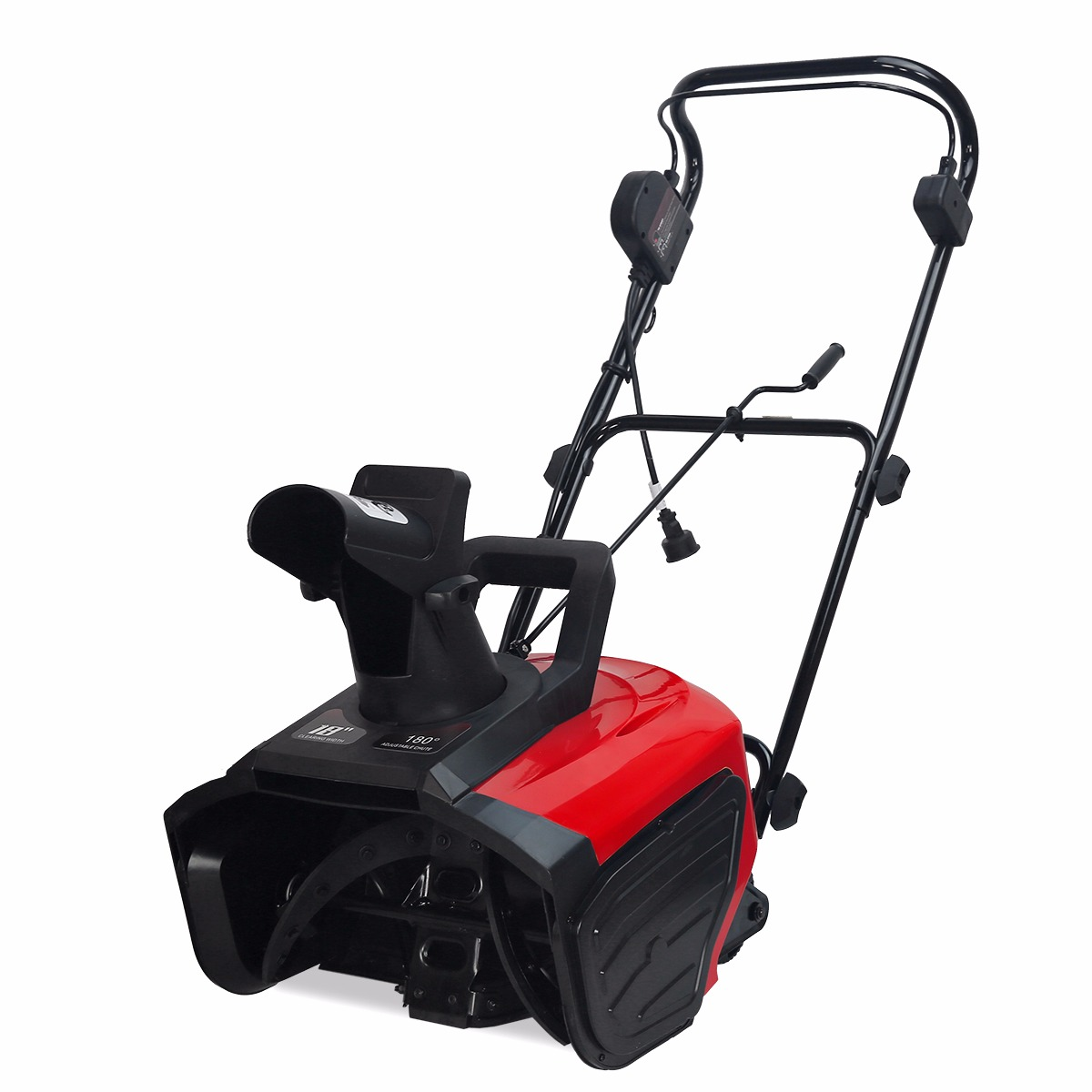 "XtremepowerUS 1600W 18"" Electric Snow Blower Snow Thrower adjustable Snow Cleaner"