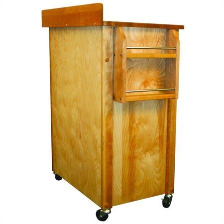 Pemberly Row Deluxe Butcher Block Kitchen Cart - image 4 of 4