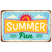 Summer Fun Sign Walmart eGift Card
