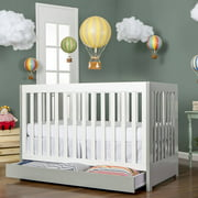Dream On Me Milano 5-in-1 Convertible Crib, Choose Your Finish