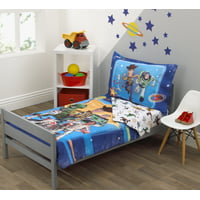 Disney Toy Story Team Toy 4 Piece Toddler Bedding Set