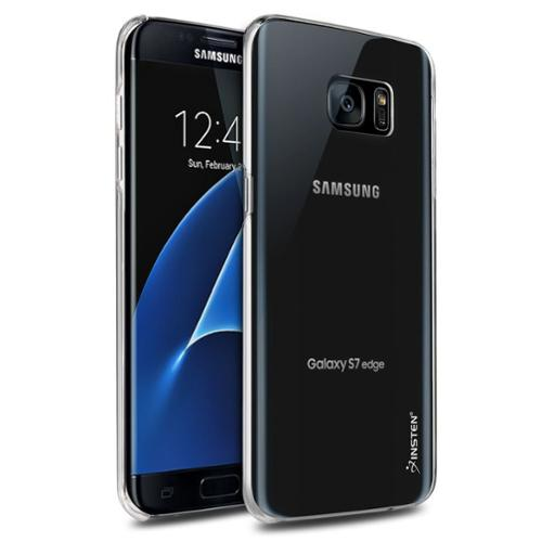 Galaxy S7 Edge Case, by Insten Hard Protective Clip On Case Cover for Samsung Galaxy S7 Edge - Clear