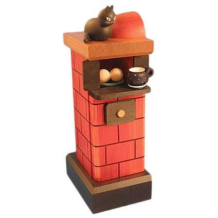 Dacor Stove - Red Tiled Stove German Smoker SMK758X04