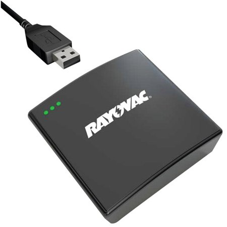Rayovac PS73-4BT6 Mobile Battery Power Pack/Portable USB Charger with Cords and