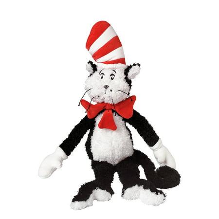 Manhattan Toy Dr. Seuss Cat in the Hat 20u0022 Soft Plush Toy