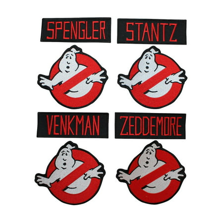 Superheroes Set of 8 Ghostbusters 4
