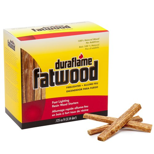Duraflame .125 cu ft Fatwood Firelighter
