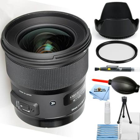 Sigma 24mm f/1.4 DG HSM Art Lens for Canon EF (401101) STARTER