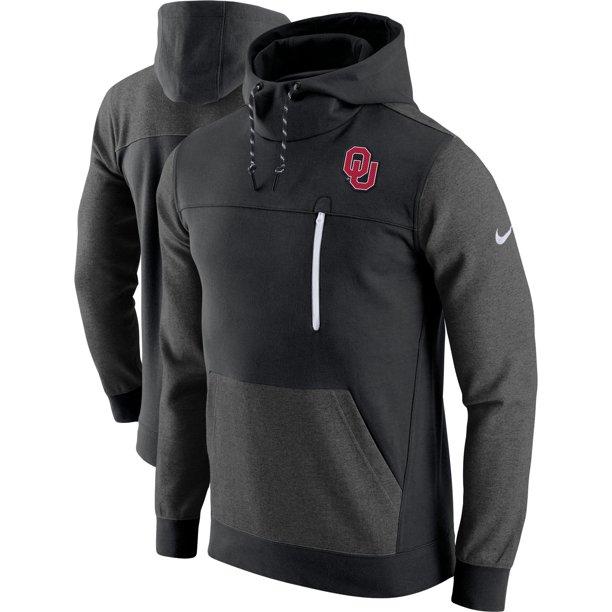 Enfadarse grueso Mejorar  Nike - Oklahoma Sooners Nike AV15 Pullover Hoodie - Black - Walmart.com -  Walmart.com