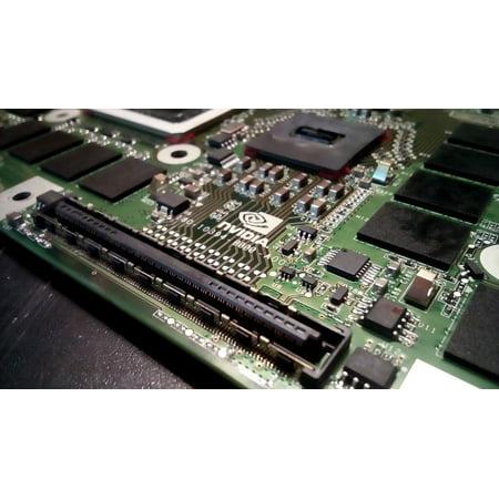 laminated poster board electronics processor nvidia pcb gpu poster