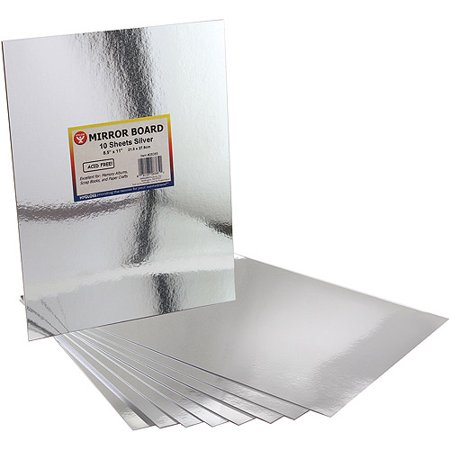 Hygloss mirror sheets for Craft plastic sheets walmart