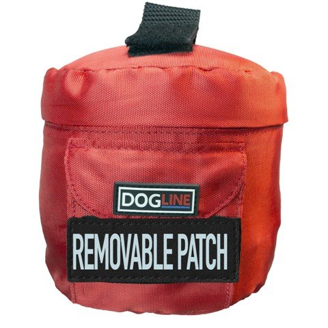 Side Utility Bags for Unimax Harness Red S M by Dogline