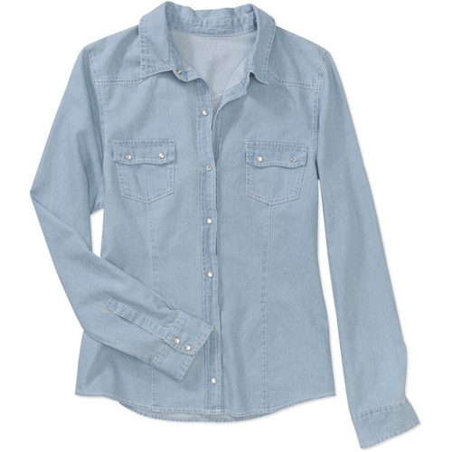 Brooke Leigh Denim Boyfriend Shirt