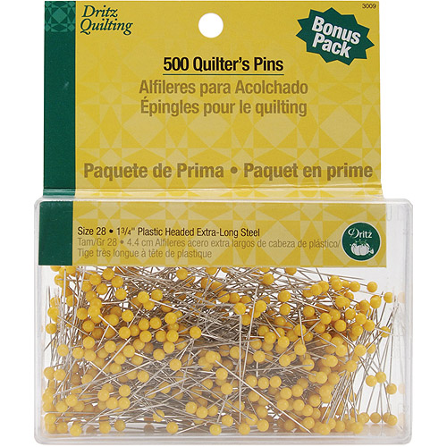 Dritz Quilting Quilter's Pins, 500pk
