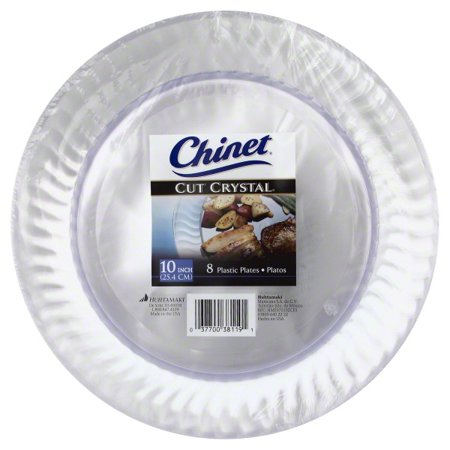 UPC 037700381191 - Chinet Cut Crystal Plates - 10-Inch - 1 Package ...