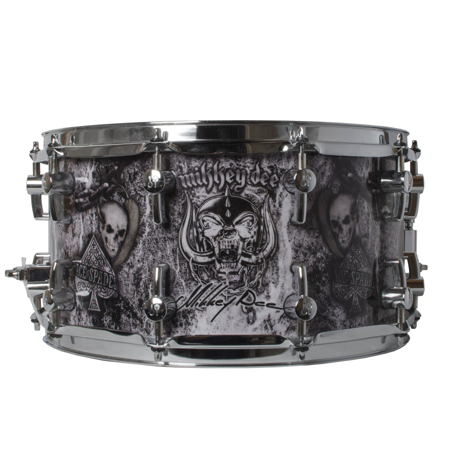 Sonor Mikkey Dee Signature Snare Drum by Sonor