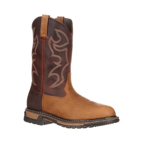 "Men's Rocky 11"" Branson Roper 6732 Boot by Rocky"