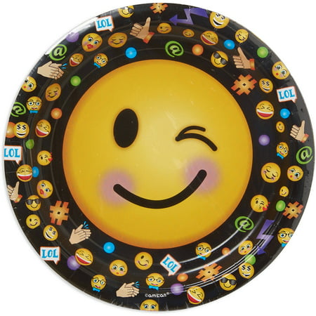 Lol 9  Round Plate  8 Count  Party Supplies