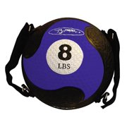 Blue Eight Pound FitBALL w Adjustable & Removable Straps