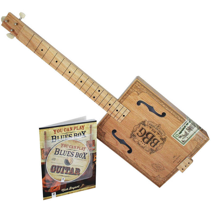 The Electric Blues Box Slide Guitar with Guitar Slide Instruction Book and DVD by Hinkler Books