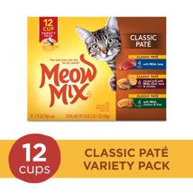 Cat Food: Meow Mix Classic Paté