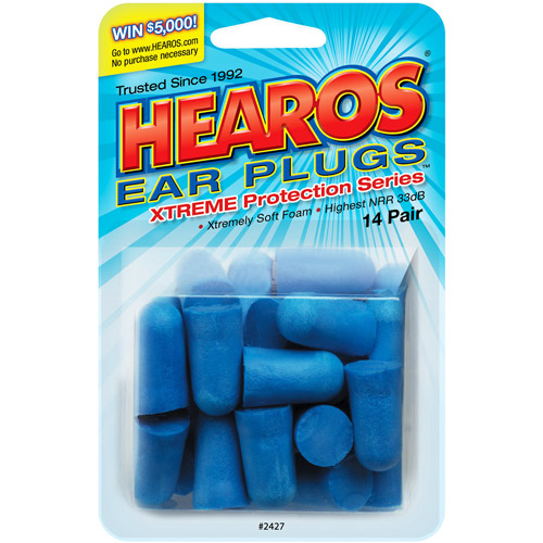 HEAROS Xtreme Ear Plugs: 28 count