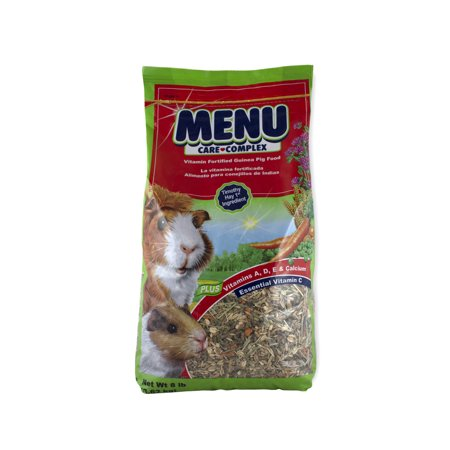 Guinea Pig Fruit Sticks - Vitakraft Menu Care Complex Guinea Pig Food, 8 lbs.