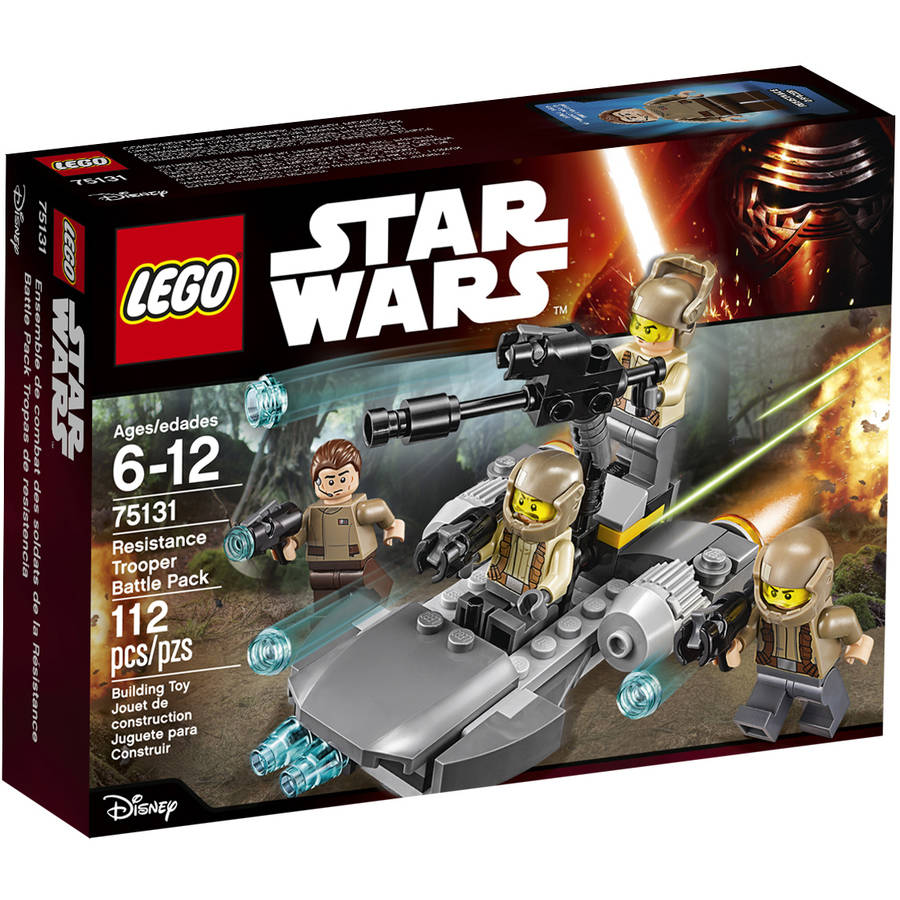LEGO Star Wars TM Resistance Trooper Battle Pack 75131