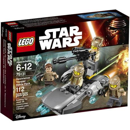 Lego Star Wars Tm Resistance Trooper Battle Pack 75131