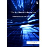 Effective Multi-Unit Leadership - eBook