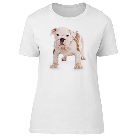 Cute English Bulldog Puppy Doggy Tee Women's -Image by (English Bulldogs For Sale In Washington State)