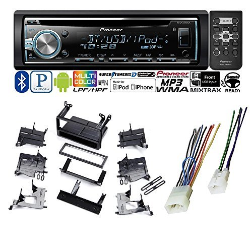 Car Audio TOYOTA 4 RUNNER MATRIX CAR STEREO RADIO DASH INSTALLATION MOUNTING KIT W/ WIRING HARNESS + Pioneer en VeoyCompro.net