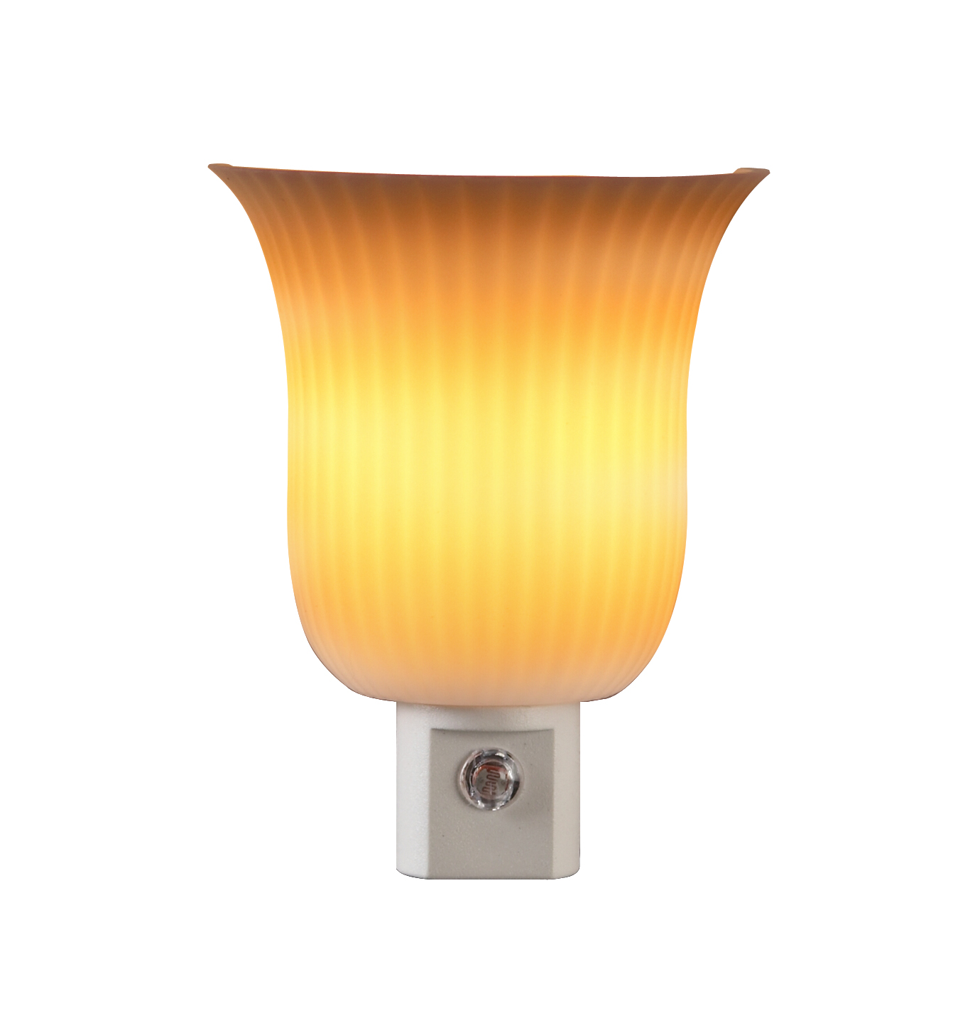 AmerTac 71142 Pleated Sconce Night Light by Amertac