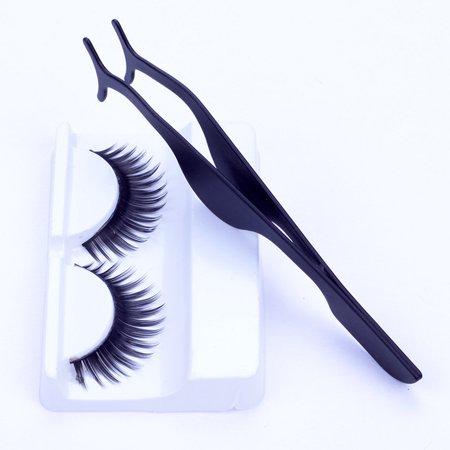 909ebcc836b Hot False Eyelashes Extension Applicator Remover Clip Tweezer Nipper Beauty  Tool - Walmart.com