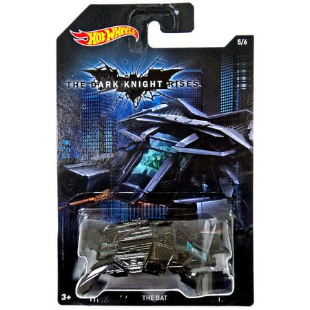 - Hot Wheels The Dark Knight Rises The Bat Die-Cast Car