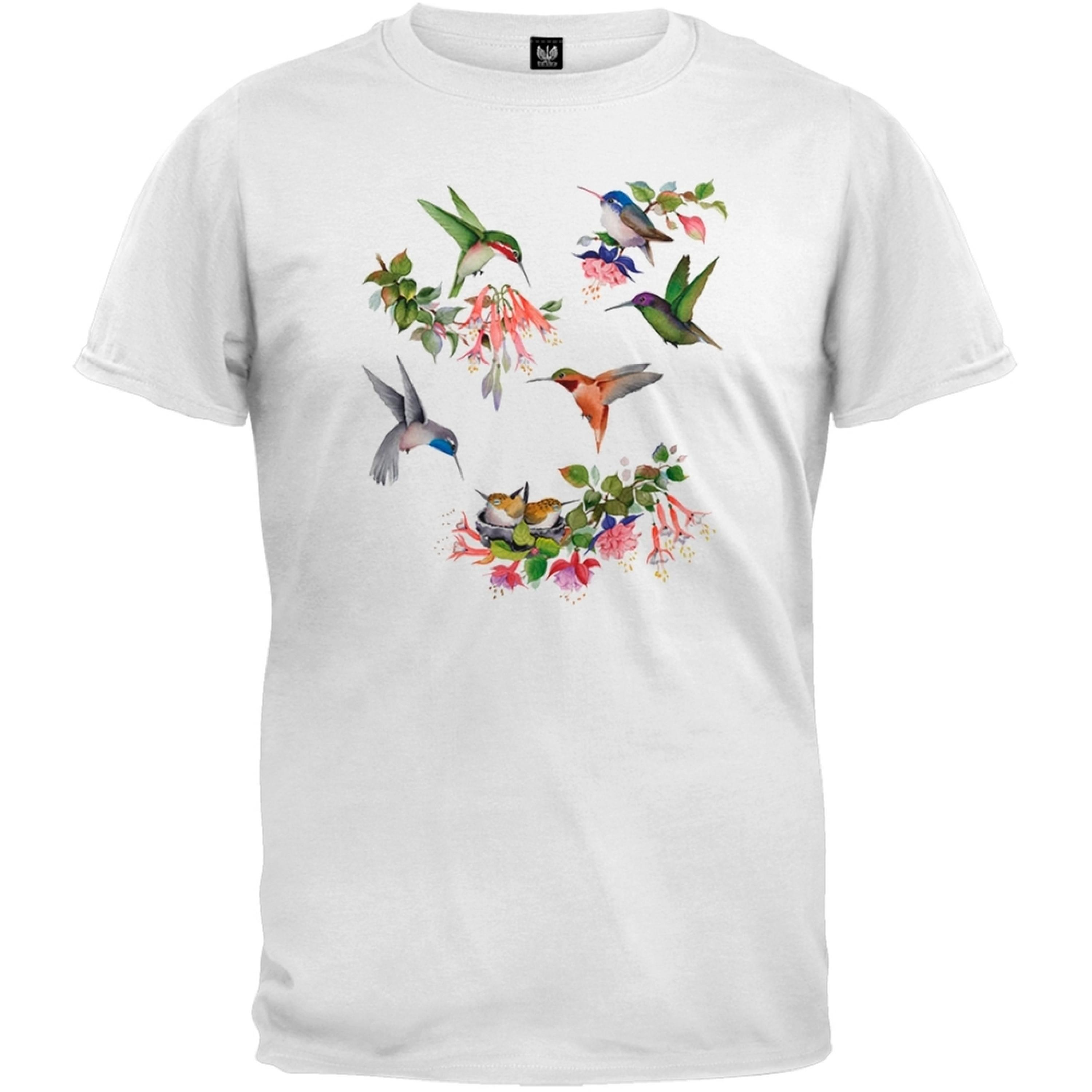 Hummingbirds of North America White T-Shirt