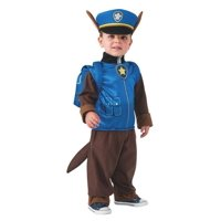 PAW PATROL CHASE CHILD'S COSTUME-2T-4T