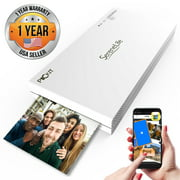 Best Portable Printers - Pyle Portable Smartphone Printer for Universal - White Review