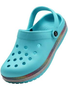 Norty Women's Slip On Clog Sandal, Walking, Water Shoe