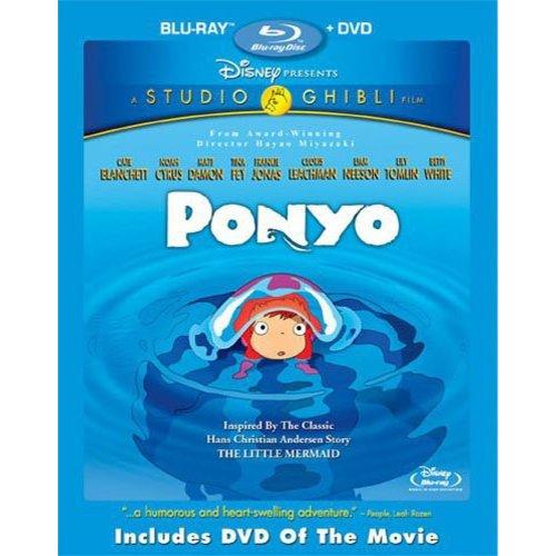 Ponyo (Blu-ray + DVD) (Widescreen)