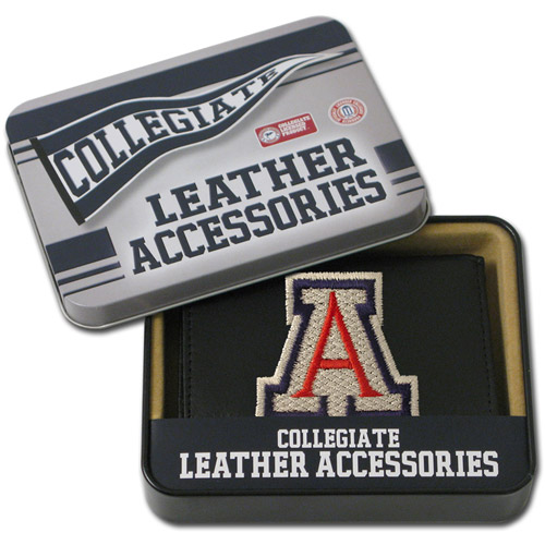 NCAA - Men's Arizona Wildcats Embroidered Trifold Wallet