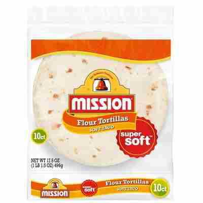 Mission Medium Soft Taco Flour Tortillas 10 ct