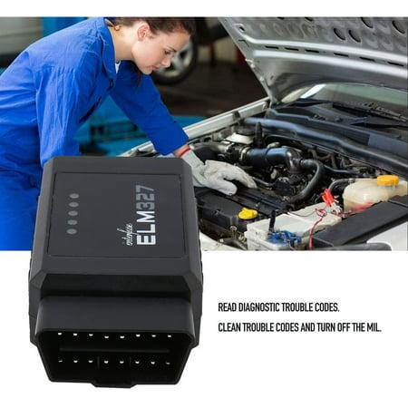 ELM327 USB Scanner OBDII Interface Car Diagnostic Tool Code