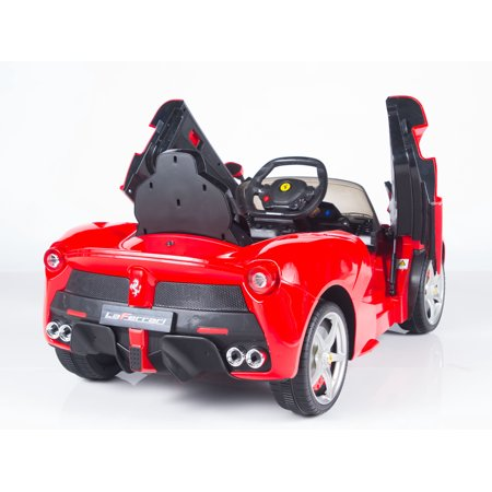 Exclusive Official 12V LaFerrari Kids Ride On Car with MP3, Lights, Doors and Remote Control - image 8 de 12