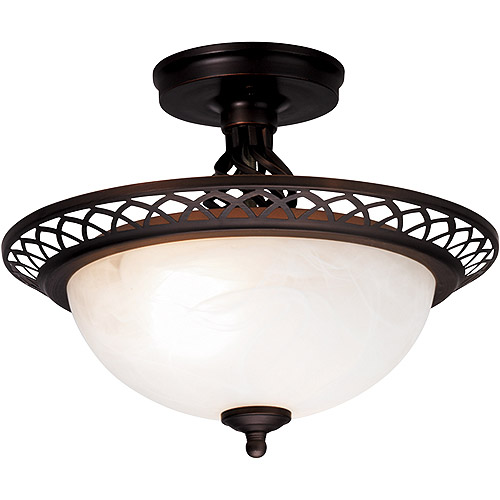 Hampton Isabella Semi-Flush Mount Ceiling Light