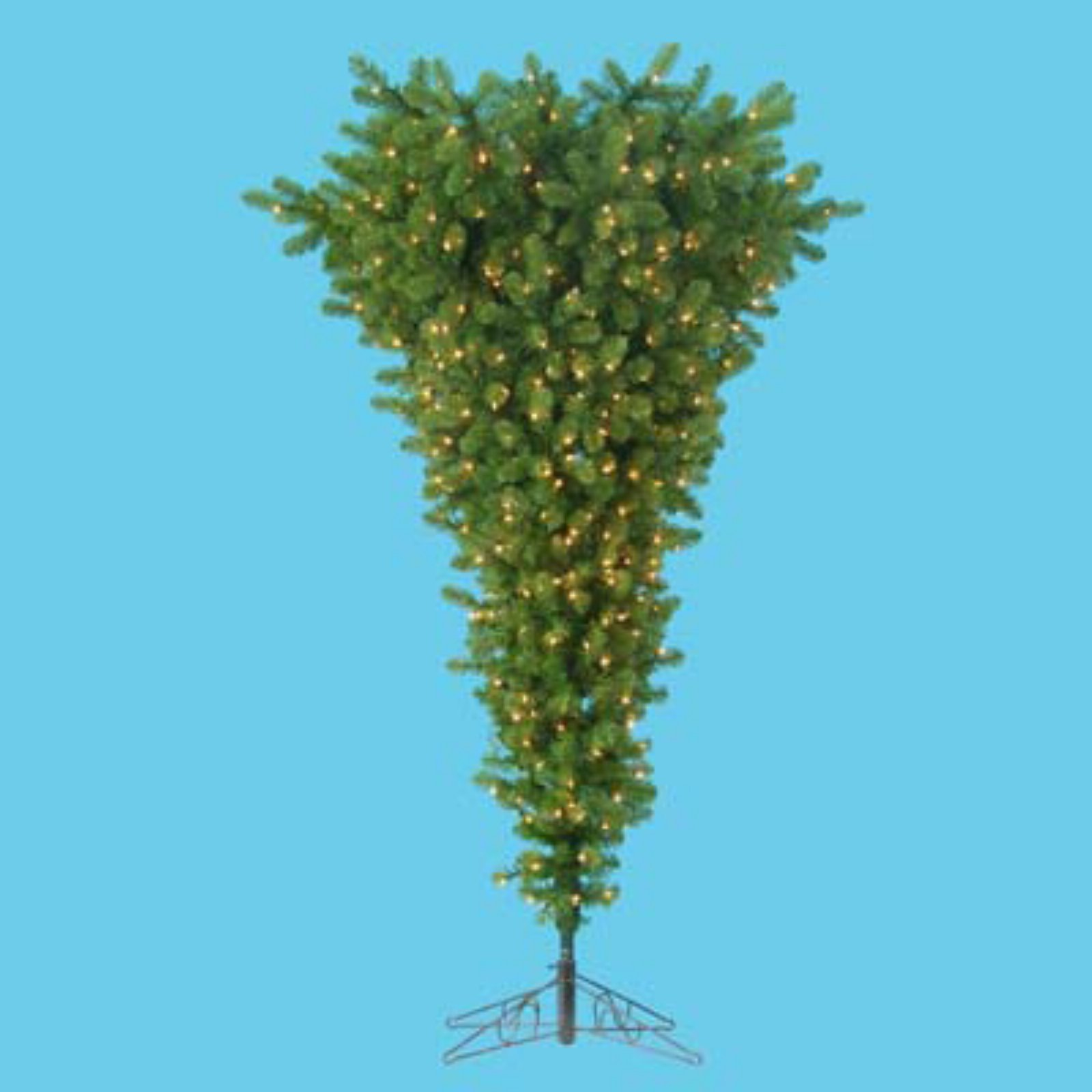 Kurt Adler 4.5 ft. Upside Down Pre-Lit Christmas Tree