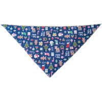 Holiday Mix Tie-On Pet Bandana Size Small